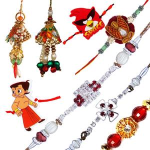 Eight rakhi set 4