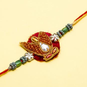 Kundan work zari beads